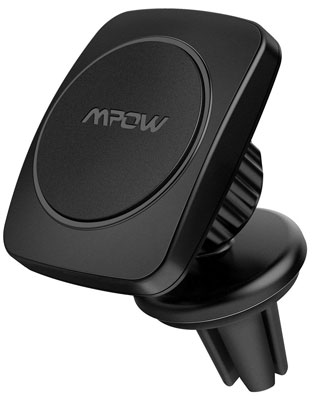 9. Mpow Air Vent Magnetic Phone Car Mount