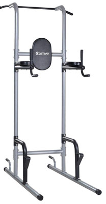 7. Goplus Chin Up Power Tower Rack