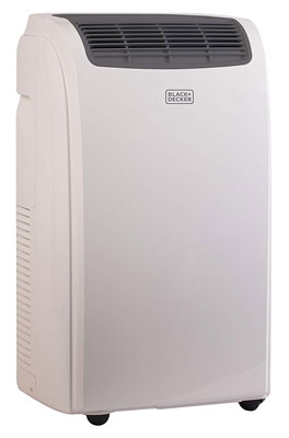 1. Black + Decker 8,000 BTU Portable Air Conditioner Unit