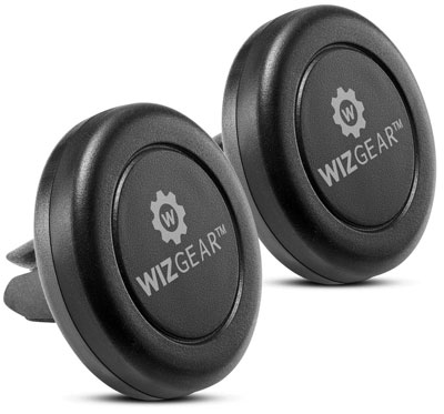 1. WizGear 2-Pack Magnetic Phone Car Mount