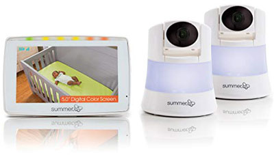 6. Summer Infant 2.0 Duo Baby Video Monitor