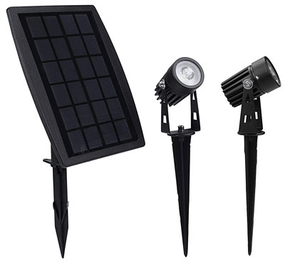 5. Findyouled Automatic Wall Light Solar Spotlight
