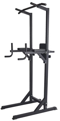 9. Lucky Tree Adjustable Dip Station Stand