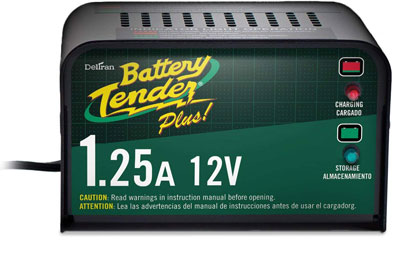 1. Battery Tender 021-0128 Plus Smart Trickle Charger