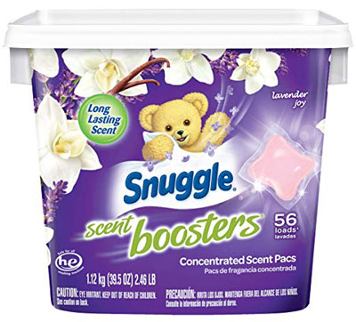 6. Snuggle Lavender Joy 56 Count Boosters Laundry Detergent