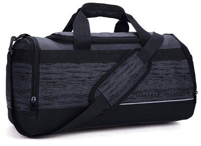5. MIER 20 Inch Gym Bag with Shoe Compartment
