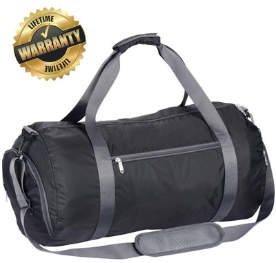 10. WEWEON Gym Bag for Men and Women with Shoe Compartment