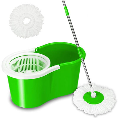 8. Valuebox Spin System Mop (Green)