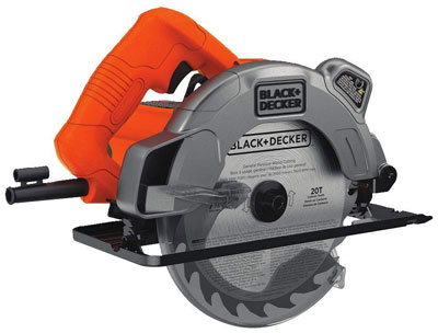 5. Black & Decker 13 Amp Circular Saw with Laser (BDECS300C)