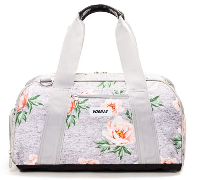 "8. Vooray Burner 16"" Gym Bag with Shoe Pocket"