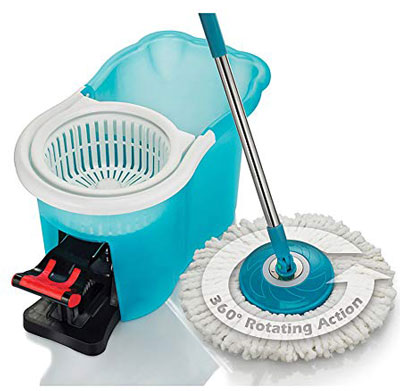 4. Hurricane Spin Mop Home Cleaning System