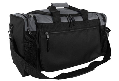 "7. DALIX 19"" Gym Duffel Bag"