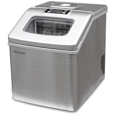10. Frigidaire 48lbs Clear Cubes Ice Maker