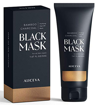 1. Aliceva Charcoal 50g Blackhead Face Mask