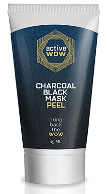 8. Active Wow Activated Charcoal Blackhead Mask