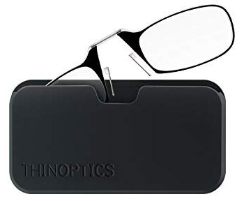 1. ThinOptics 1.5 Strength Classic Universal Reading Glasses