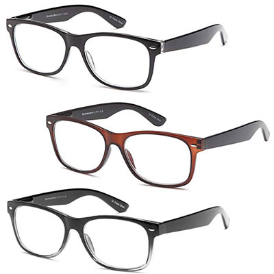 7. Gamma Ray Deluxe Comfort Fit Reading Glasses