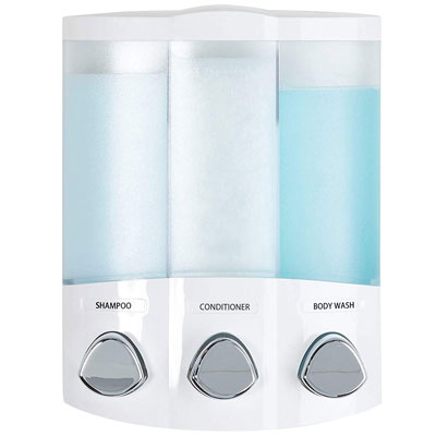 2. Better Living Euro Series 76354 Trio Soap Dispenser