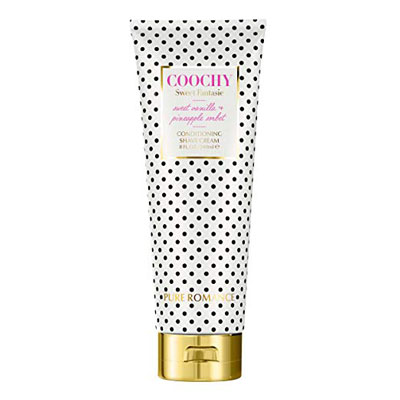 4. Pure Romance Coochy Sweet Conditioning Fantasie Shave Cream