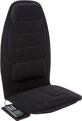 10. Relaxzen 10-Motor Massage Seat Cushion