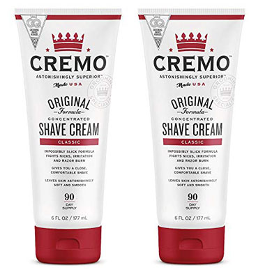 1. Cremo Superior Original 6Oz Shave Cream