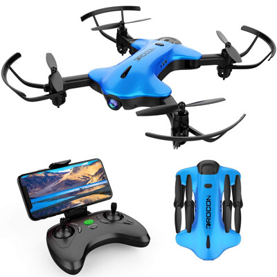 8. DROCON Foldable Drone for Kids and Beginners