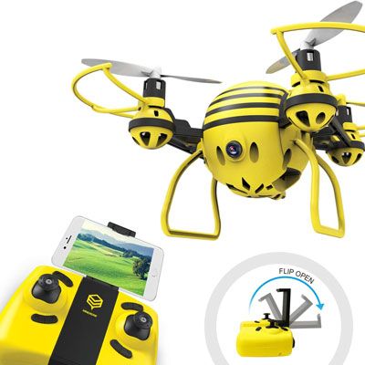 9. HASAKEE FPV RC Drone with HD WiFi Camera