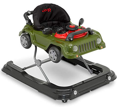 10. Jeep Classic Wrangler 3-in-1 Grow with Me Walker