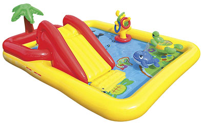 2. Intex Ocean Inflatable Play Center