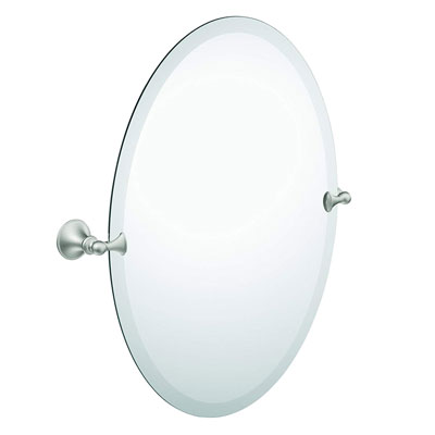 2. Moen DN2692BN Oval Glenshire Tilting Bathroom Mirror