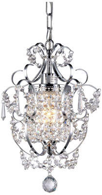5. Whse of Tiffany Chrome RL4025 Jess Crystal Chandelier