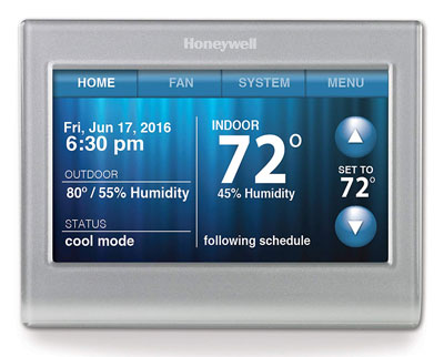 5. Honeywell Smart Wi-Fi 7 Day Programmable Thermostat (RTH9580WF)