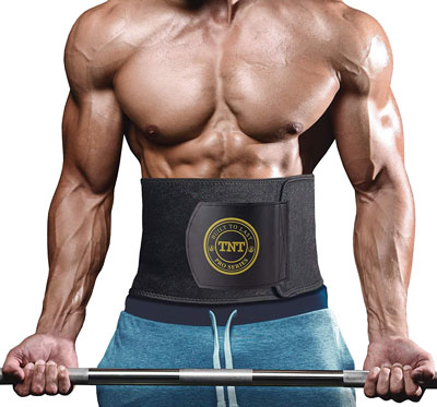 2. TNT Pro Series Weight Loss Ab Belt