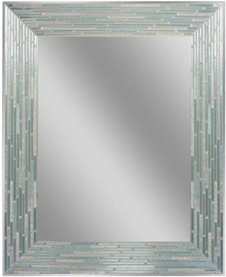 5. Head West Sea Reeded Glass Mirror