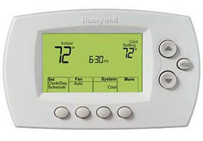 2. Honeywell Wi-Fi 7-Day Programmable Thermostat (RTH6580WF)