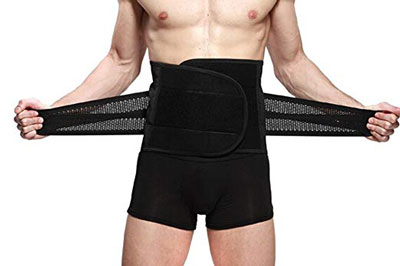 9. Goege New Style Adjustable Breathable Trimmer Belt