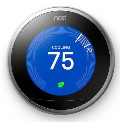 1. Nest (T3007ES) Learning Thermostat – Third Generation