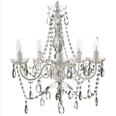 1. Gypsy Color 5 Light Medium Crystal Chandelier