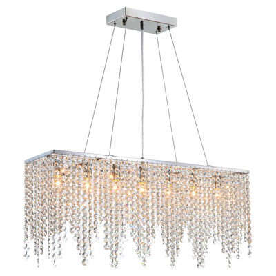6. 7PM Crystal Chandelier Lighting Fixture