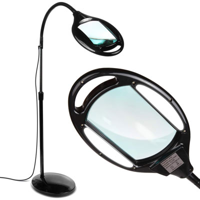 4. Brightech LightView Magnifying Pro LED Floor Lamp
