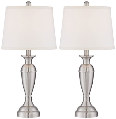3. Regency Hill Table Lamp Set of 2