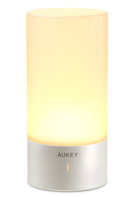 1. AUKEY Table Lamp for Bedrooms