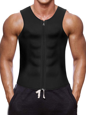 4. Wonderience Men Waist Trainer Vest