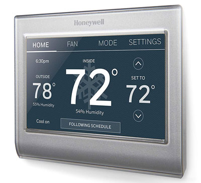4. Honeywell Wi-Fi Programmable Thermostat (RTH9585WF1004/W)