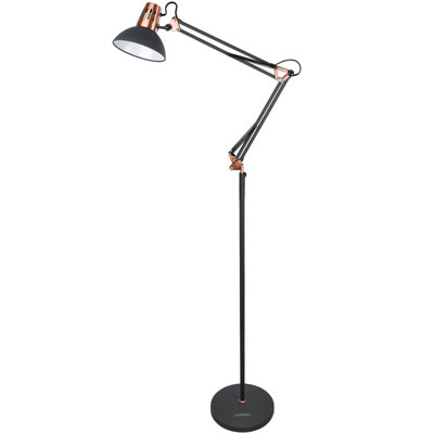10. Lepower Adjustable Metal Standing Floor Lamp