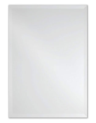 3. The Better Bevel Rectangle Frameless 20-Inch Wall Mirror