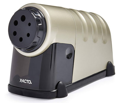 9. X-ACTO Electric Pencil Sharpener – Model 41