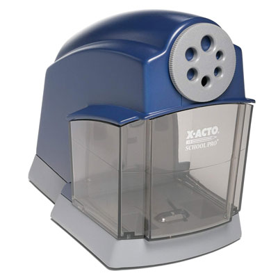 1. X-ACTO Electric Pencil Sharpener - School Pro Classroom