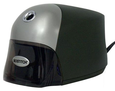 8. Bostitch QuietSharp Executive Electric Pencil Sharpener (EPS8HD-BLK)