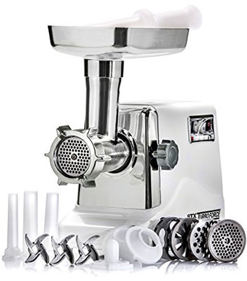 1. STX International STX-3000-TF Turboforce 3 Electric Meat Grinder